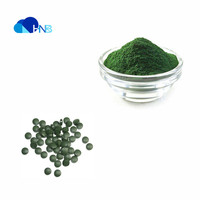 Pure natural organic cell craked chlorella tablet spirulina tablet powder for nutrition