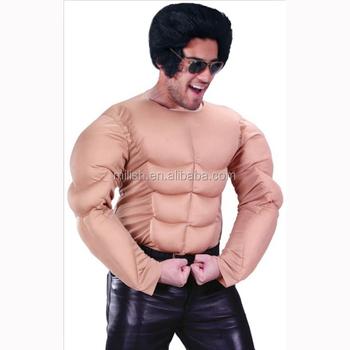 Partei Elvis Presley Gefälschte Schlauchboot Muskel Mann Kostüm Mab ...