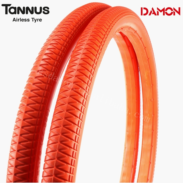 "Korea Tannus Aither1.1 26""*1.75 Mtb Airless Bicycle Tyre"