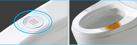 Guangdong IT9082 Bathroom intelligent smart electric one piece toilet