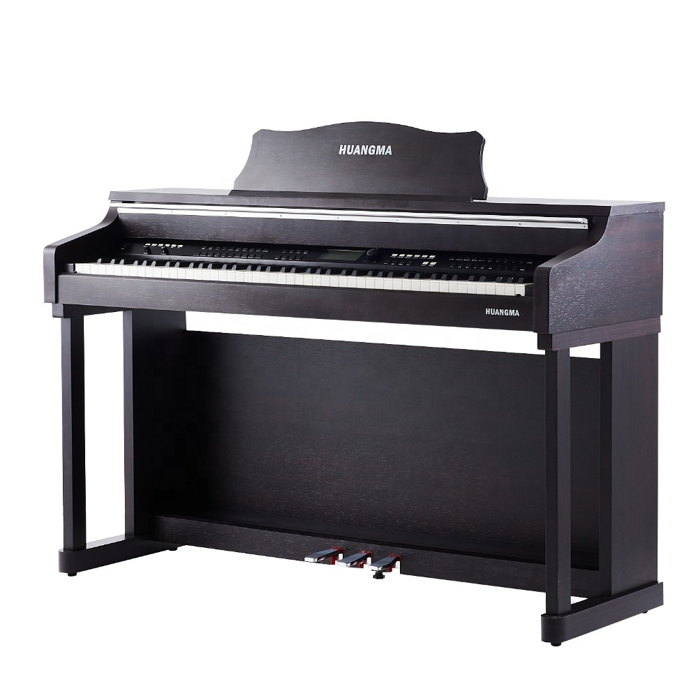 88Key Training Upright Digitalpiano E-Piano-Dreifachpedale HD-8838P Mattlack