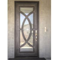cheap price steel door window insert