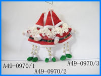 Guangdong Factory produce Blue And White Fabric Christmas Angel Craft popular design