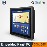 Best Quality 15inch Embedded TFT LCD Touch Screen Industrial Panel PC with Thin Bezel (3mm) Front