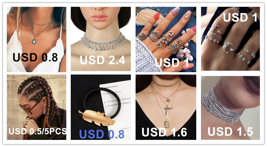Personality Street filming cross pearl sweater chain simple geometric multi layer Pendant Necklace