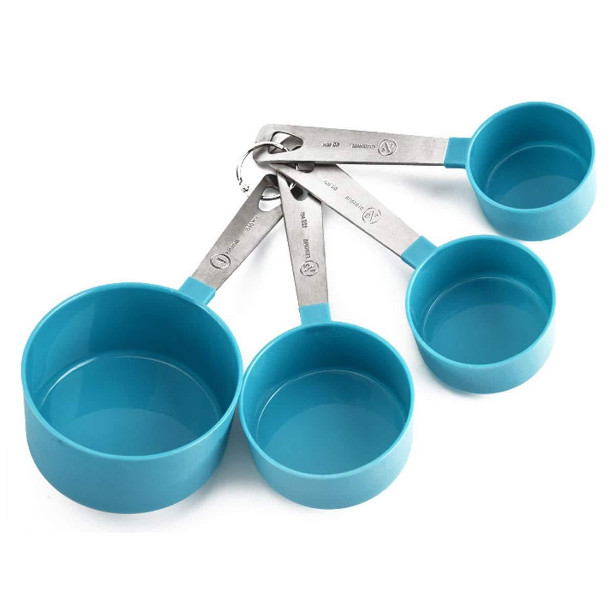 OBR KING 4pcs Measuring Cups Set Kitchen Measuring Tools Liquid Dry Ingredients