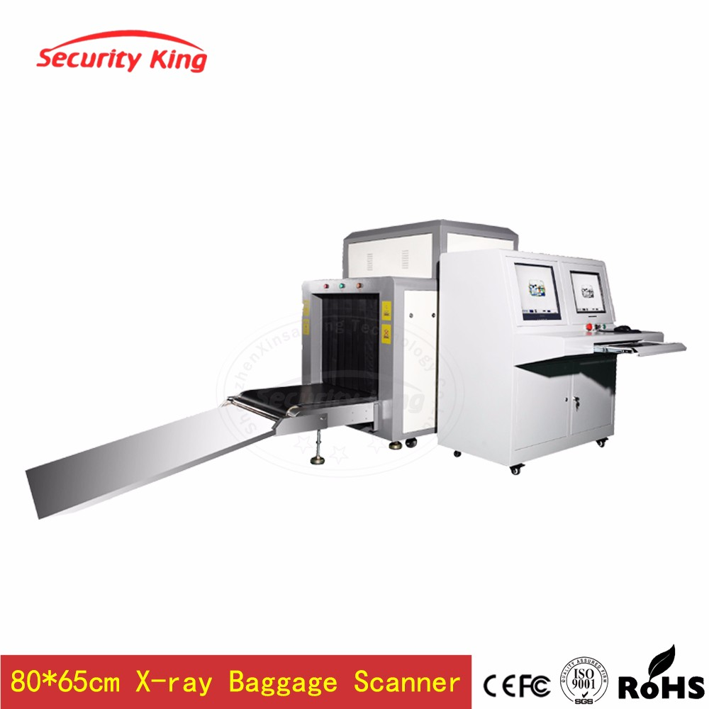 Airport Baggage Scanner Detecting Illegal Items X-ray Inspection Machine XST- 8065