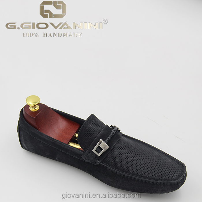 handmade for loafer GIOVANINI suede royal men shoes black G pure casual PUwqOO6