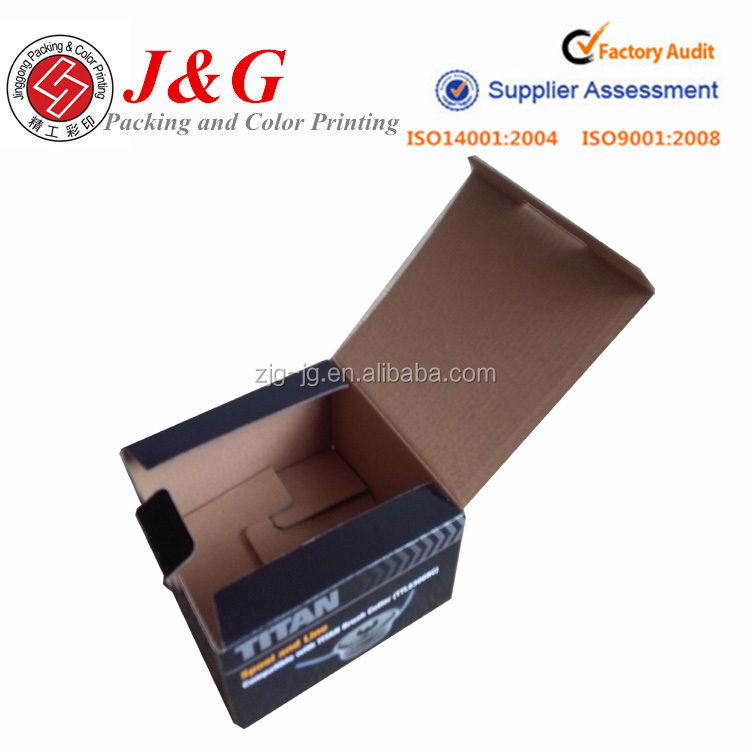 Logo custom printing corrugated packaging cardboard tool box paper box for tool