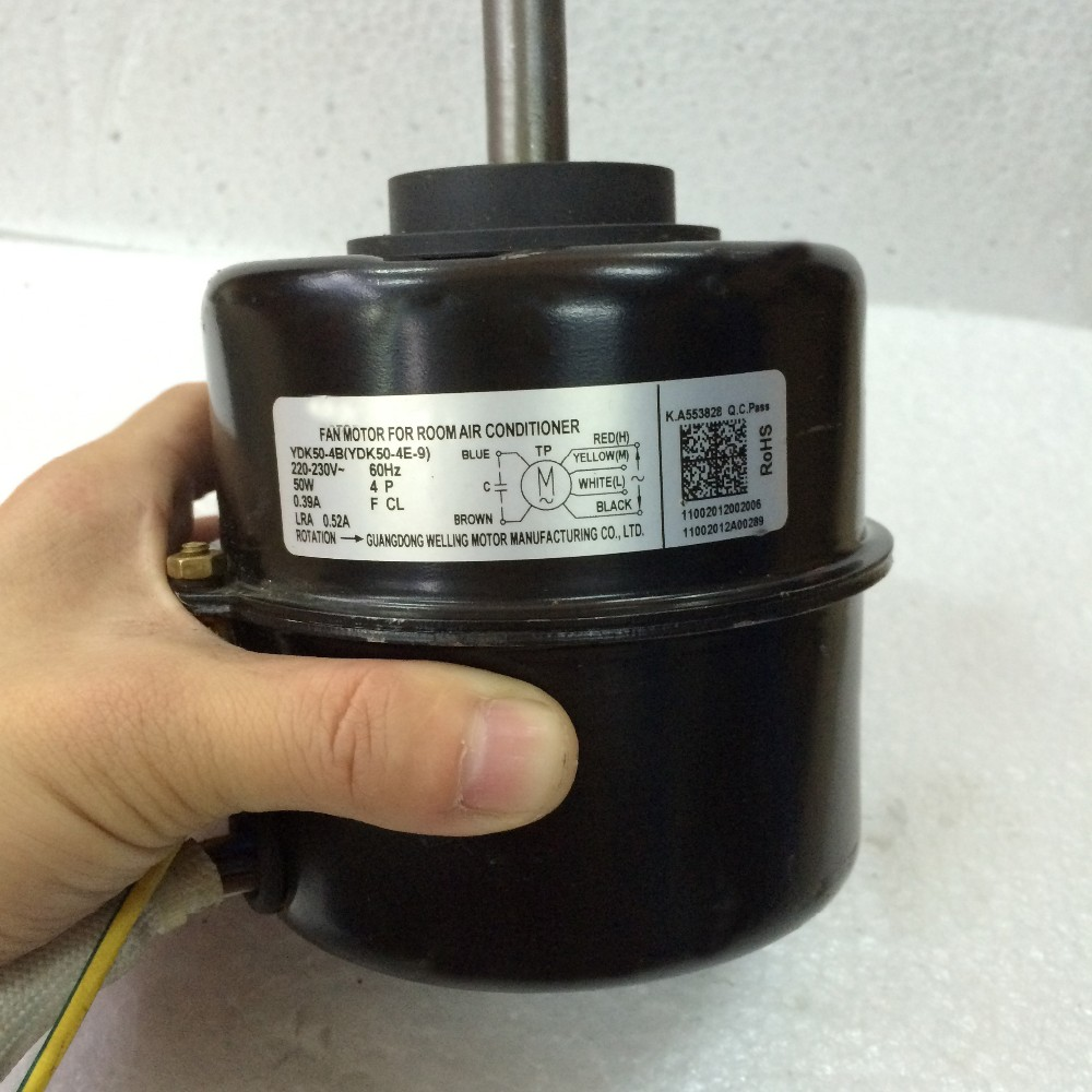Room air conditioner indoor fan motor rev43544 deliveryusa for Air conditioner compressor motor