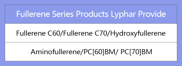 Istikrarlı Stok Fullerene C60 Tozu 99%