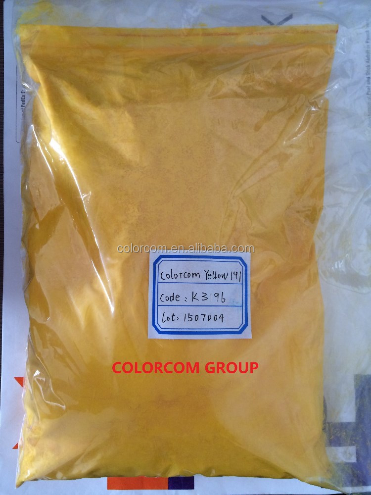 Pigment Yellow 191 PV Fast Yellow HGR for Plastic