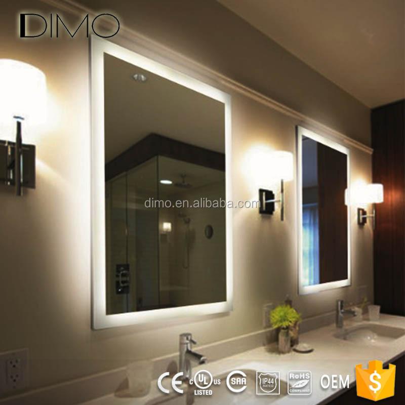Caliente-venta Contemporáneo Led Iluminado Grande Vestidor Espejo ...