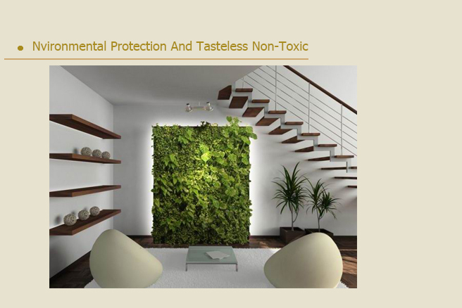 Office Wall Decoration Artificial Grass Landscape Plant