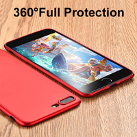 Free sample ultra thin soft tpu matte mobile phone case cover for apple iphone 6s 7 plus