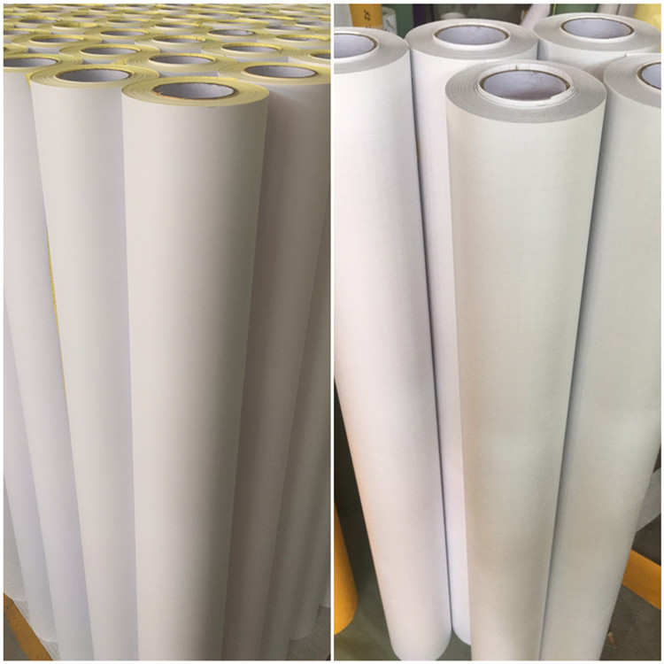 Self Adhesive Glass Frosted Window Decorative Film, Window Frosted Film With 120g Release Paper Or PET