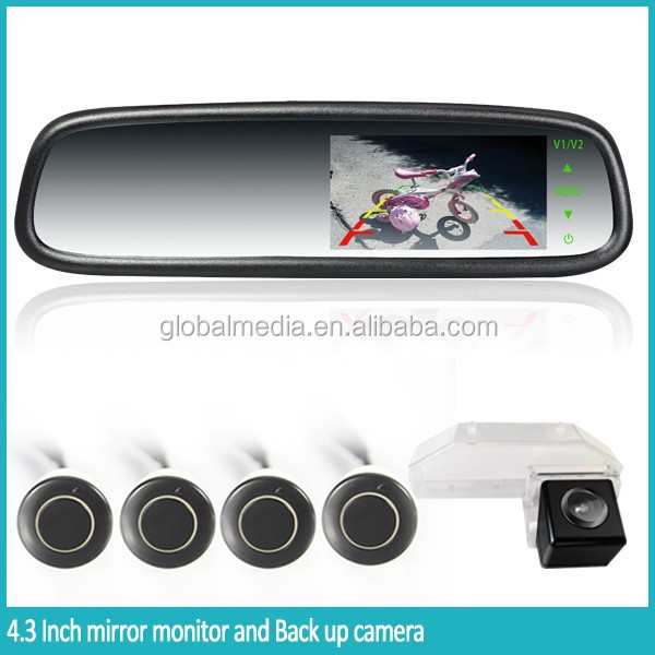 Ebay Best Selling Car Rearview Mirror With Backup Camera,Compass ...
