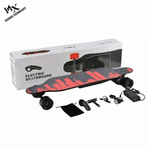 Premium skateboard DIY supported electric skate board with deck kit trucks