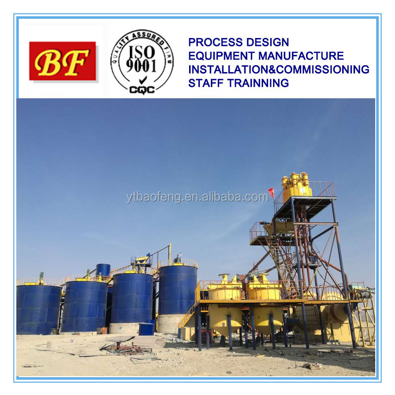 CIL plant gold EPC project/turnkey/design/equipment/installation/commissioning/management