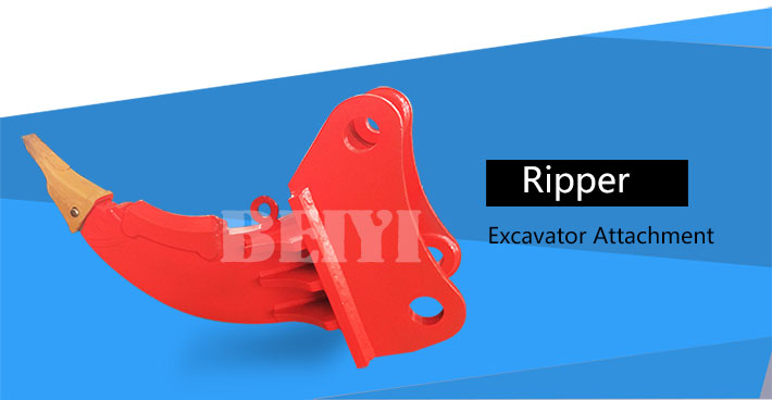 excavator heavy duty ripper for rock ripper with high strength bucket teeth