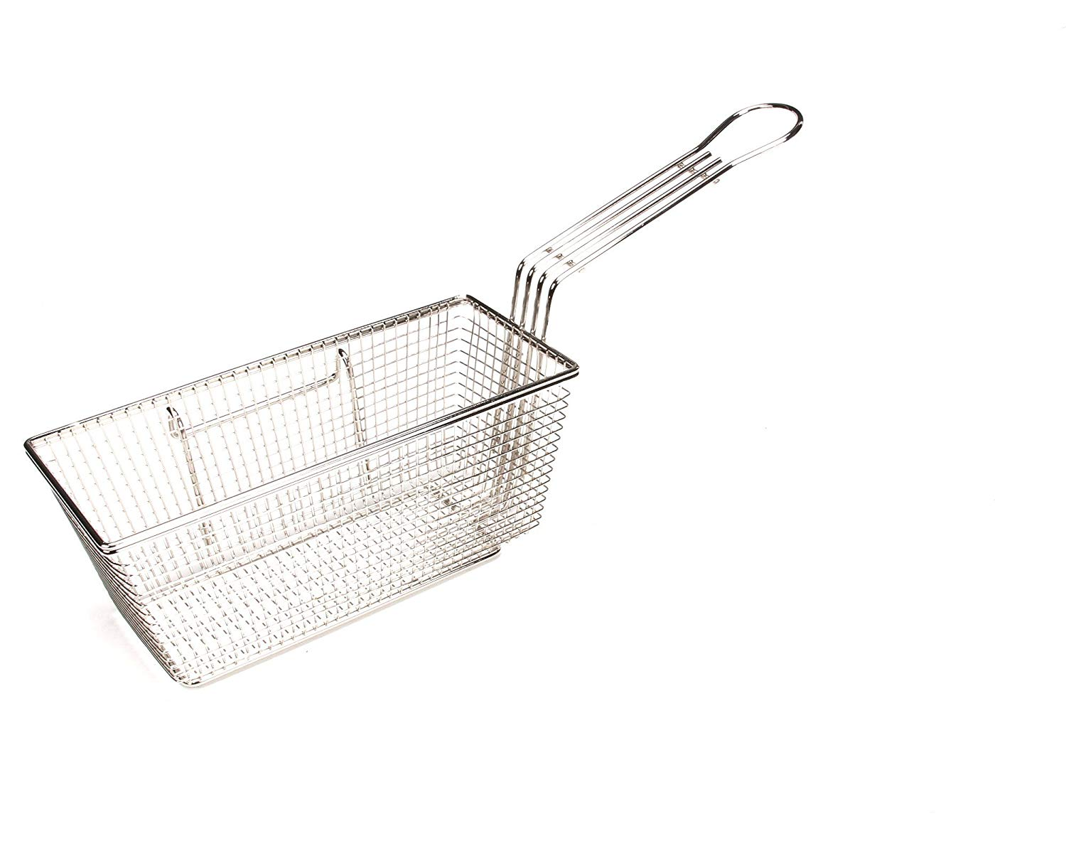 Grindmaster-Cecilware V077A Countertop Fryer Baskets with Right Hook Placement Metal Handles, 20-Pound