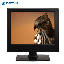 Stable Stand Square LED Monitor 12 Inch TFT LCD Super Color TV Monitor