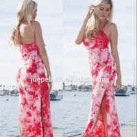 Hot Sale Fashion Girl Dress Summer Tiedye Beach Long Maxi dress
