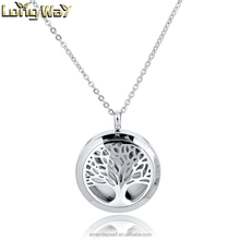 Fashion Difusser Magnetic Locket Necklaces &316 L Stainless Steel Essential Oil Diffuser Jewelry Woman Gift Christmas Accessory