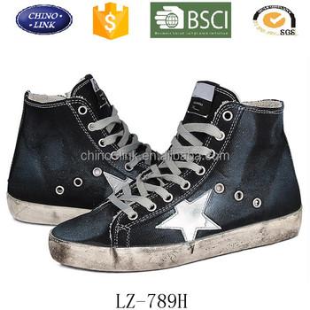 sports shoes 93f5e a6dce 2016 Männer Modemarke Schuhe Kausal Leinwand Sneaker Stern Dunkelblau High  Top Schuhe - Buy Männer Schuhe,Hohe Schuhe,Freizeitschuhe Product on ...