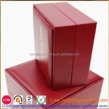 High Quality Leather Jewelry Box Making Supplies With Foam Insert