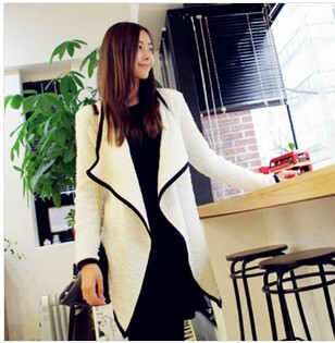 D60763A 2014 SPRING WOMEN'S WILD SHAWL SWALLOWTAIL COAT MIXED COLORS