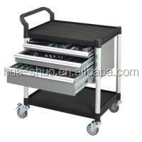 made in taiwan mobile plastic tool chest