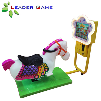 Kids Flower Shape Monitor 3d Video Arcade Coin Operated Horse Racing Game Buy Horse Racing Game Ride Horse 3d Swing Horse Kids Games Machine Product On Alibaba Com