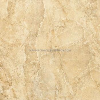 Tonia 600x600 amarillo imitaci n de m rmol pulido azulejo for Azulejos imitacion marmol