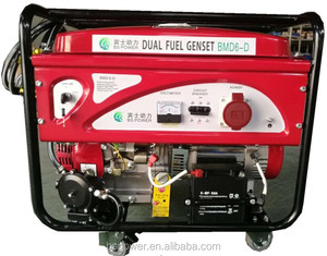 2.8KW LPG liquid gas/gasoline dual fuel electrical generator