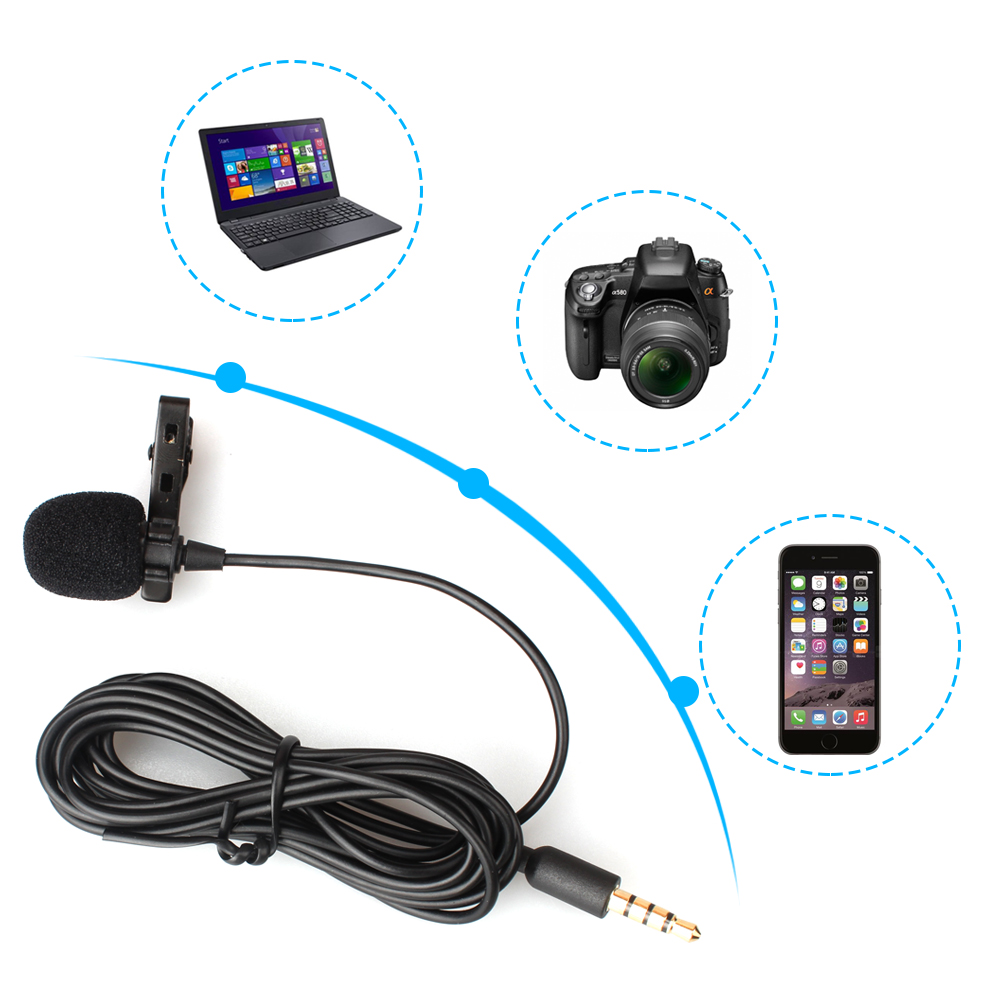 MAONO 3.5mm plug professional lavalier microphone