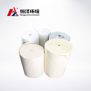 hengze high quality polyester/P84/PTFE/NOMEX dust filter cloth/fabric