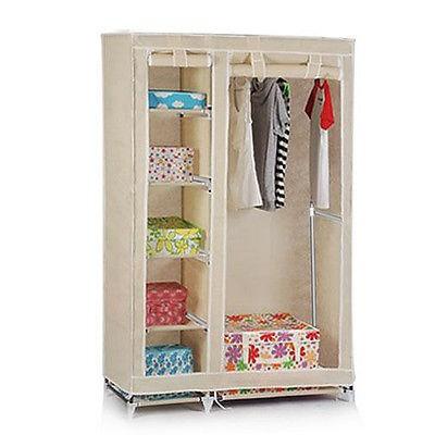 Ropa port tiles almacenamiento f cil montado armario de pl stico con cremallera otros muebles - Armarios de plastico para ropa ...
