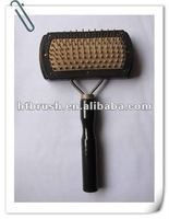 2013 single use wooden handle metal teeth pet product