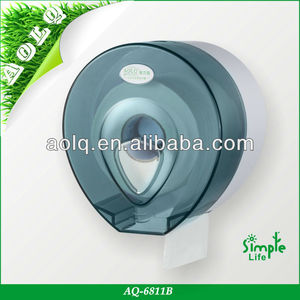 Plastic mounting big roll toilet paper holder