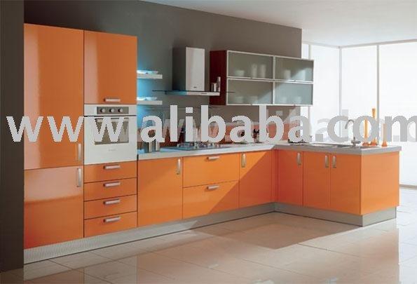 Awesome Meuble Cuisine Orange Ideas - Seiunkel.us - seiunkel.us