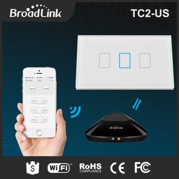 Broadlink tc2 us standard 433 wall switch 220 volt 110 volt timer broadlink tc2 us standard 433 wall switch 220 volt 110 volt timer switch via smart phone publicscrutiny Choice Image