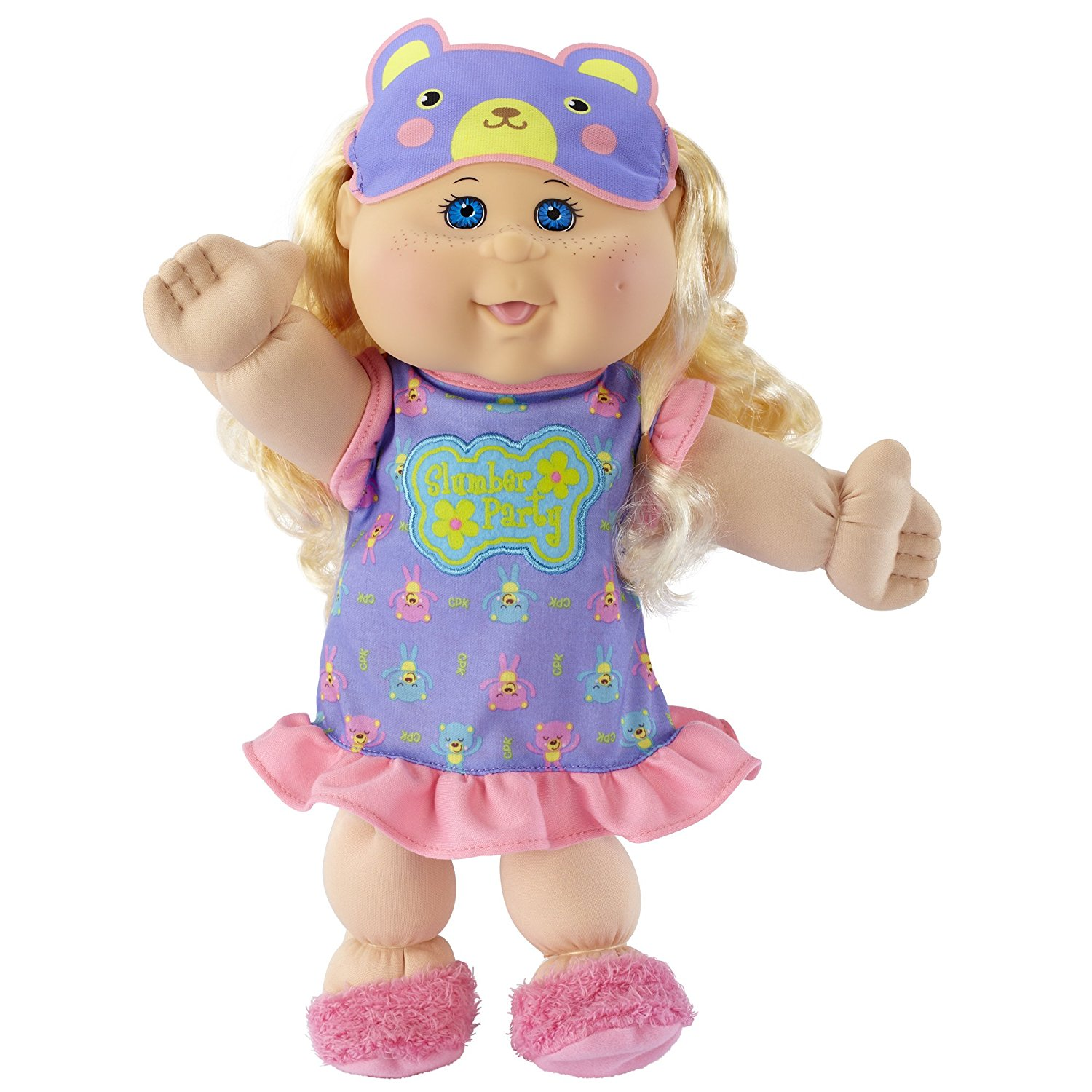 "Cabbage Patch Kids Glow Party: Blond Hair, Caucasian Girl 14"" Doll"