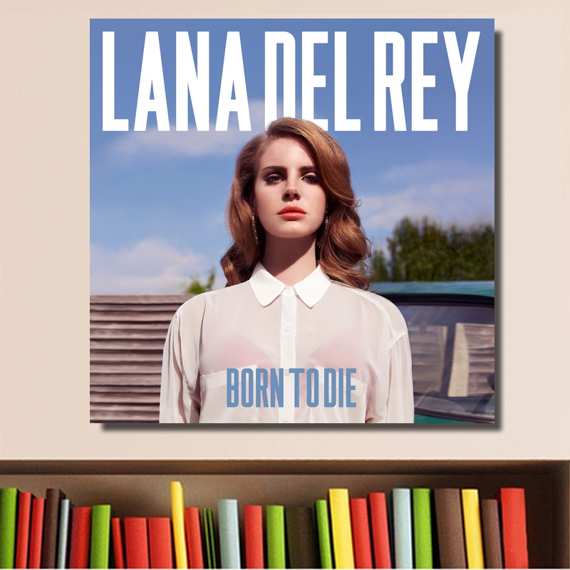Lana Del Rey Born To Die Music Cover Poster Print On Canvas Home Decor Wall Art No Frame Painting Calligraphy Aliexpress