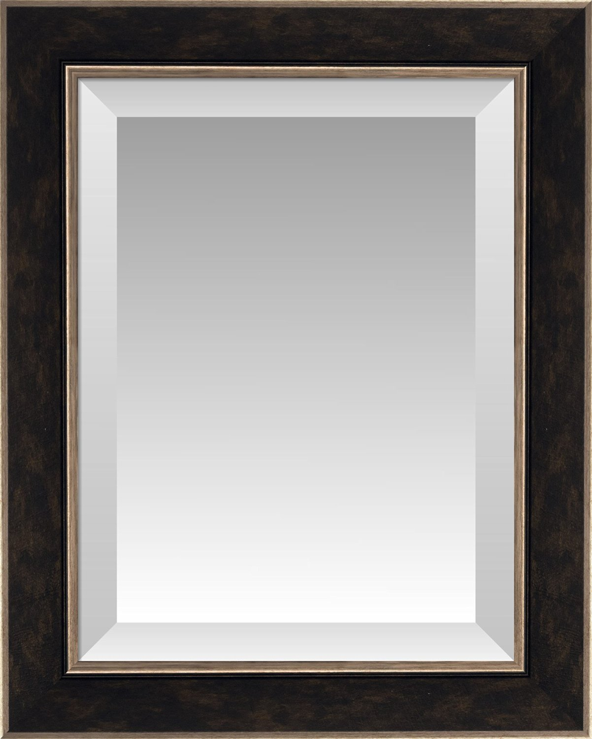 Buy Bronze Washed Espresso Brown With Bronze Edges Beveled Wall