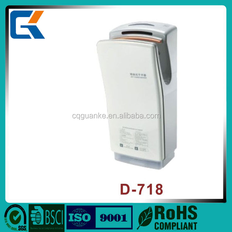 Good quality 1400W stand jet air hand dryer for household