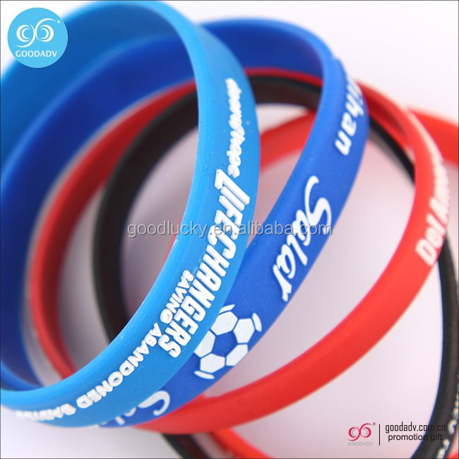 Best selling silicone wristband/wedding souvenirs silicone bracelet/custom silicone hand band