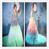 New Sexy Wedding Dress Bridal Gown Floor Length Backless OEM