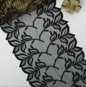 Embroidery sequin border 3D french lace lacy fabric accessories for underwear garment and dress