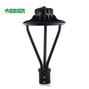 Hot Selling Type V Outdoor Post Top Pole Antique Led Area Parking Lot Solar Garden Light